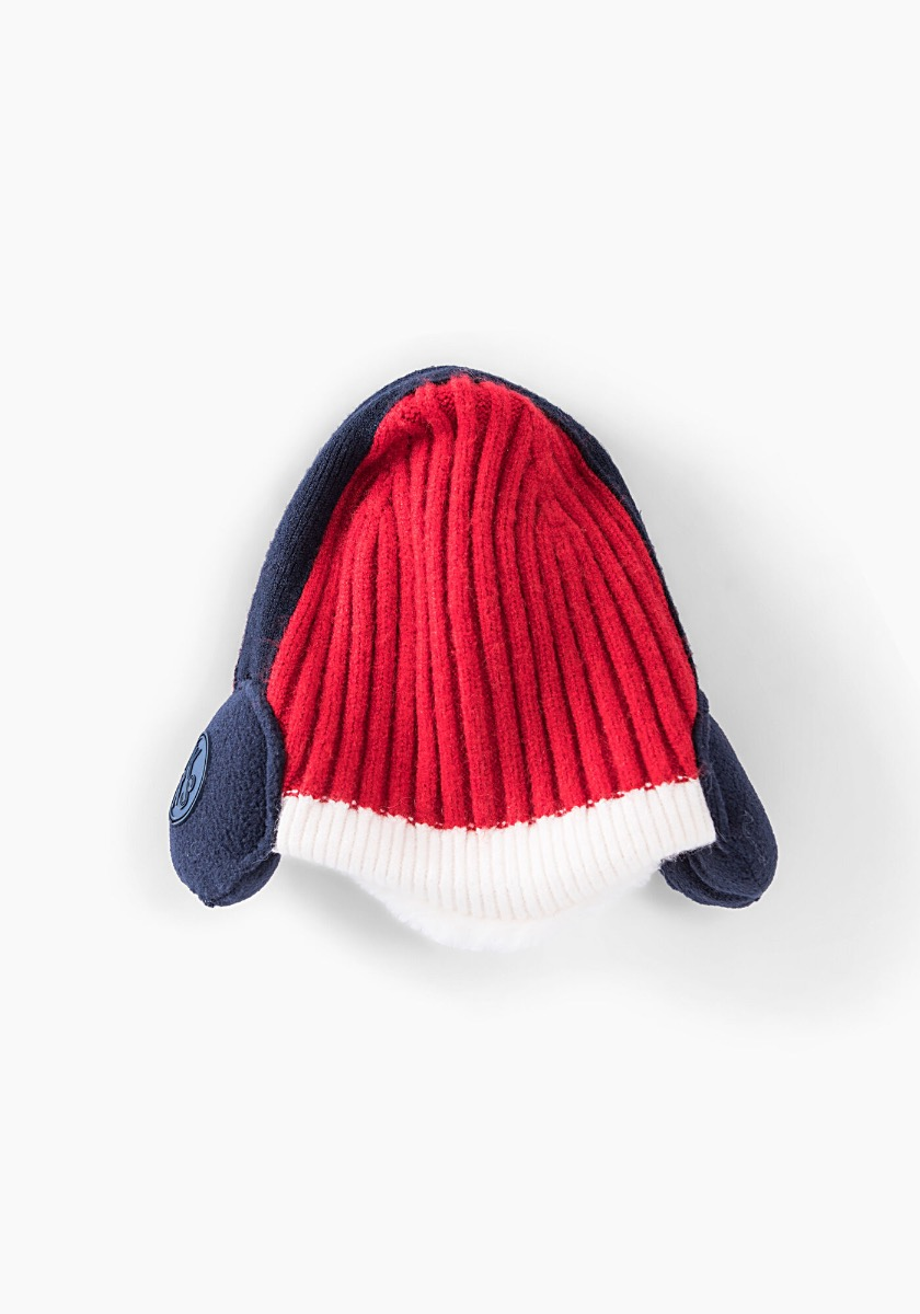 IKKS Red Knitted Beanie XR90011