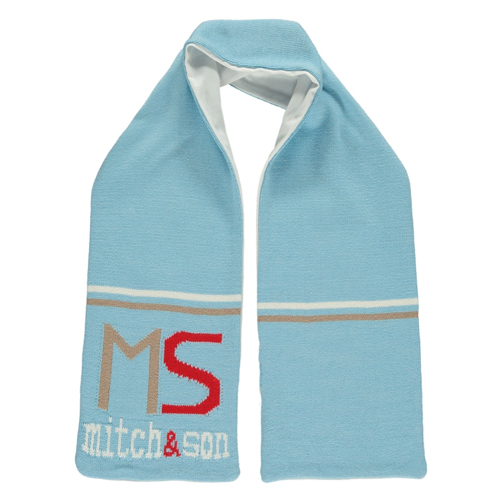 Mitch and Son Pale Blue Scarf