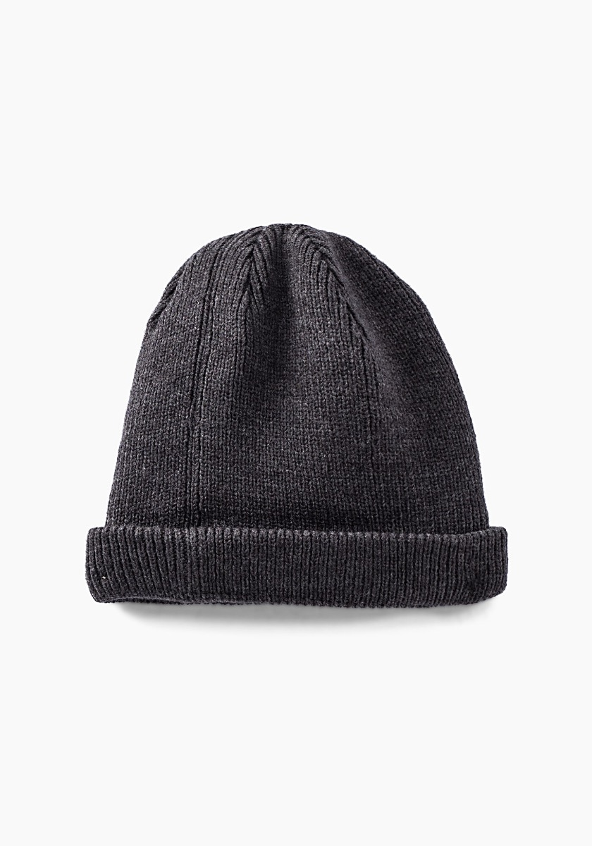 IKKS Grey Knitted Beanie XR90083