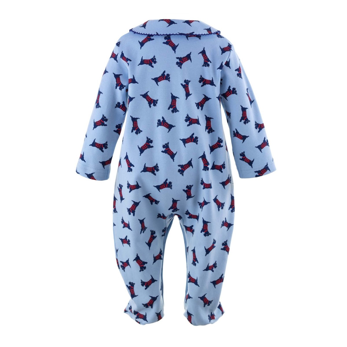 Rachel Riley Scottie Dog Babygrow 08BL