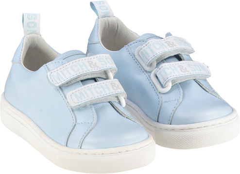 Mitch & Son Pale Blue Tom Trainers