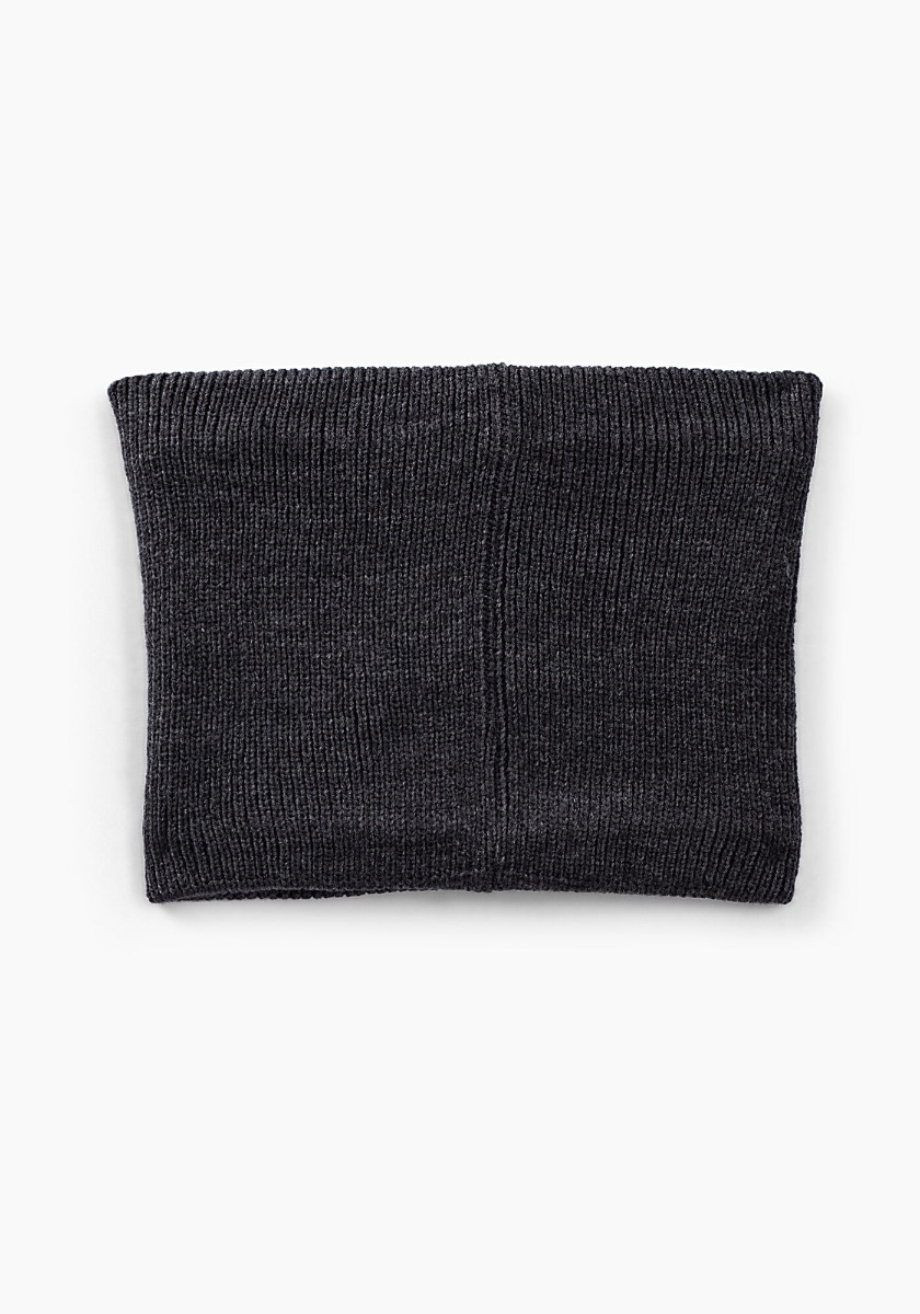 IKKS Grey Knitted Snood XR90163