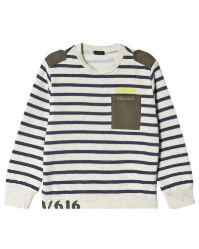 IKKS Cream Stripe Sweater XR15103