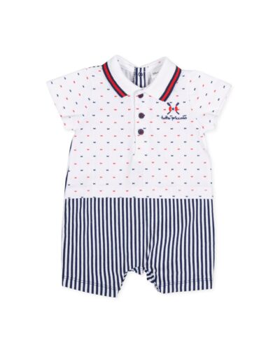 Tutto Piccolo Nautical Romper 8291
