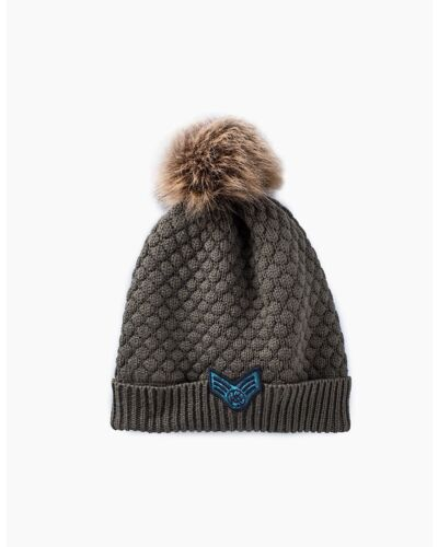 IKKS Khaki Knitted Hat XR90091