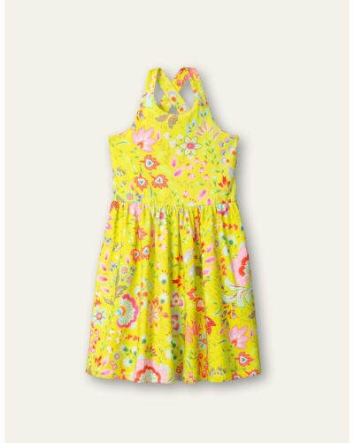 Oilily Yellow Thesummer Jersey Dress YS21GDR283
