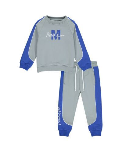 Mitch & Son Grey South Frederick Tracksuit MS21503