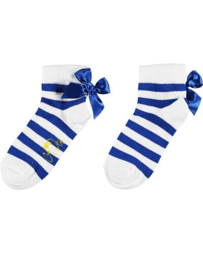 A'Dee Blue Libby Ankle Socks S211903