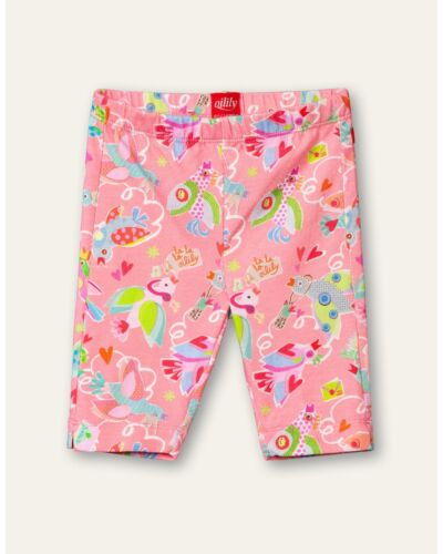 Oilily Pink Tappy 3/4 Leggings YS21GPA080