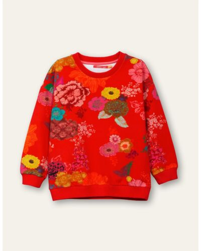 Oilily Red Heritage Sweater YF20GHJ251