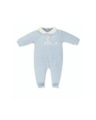 Everything Must Change Blue Babygrow BQ6337