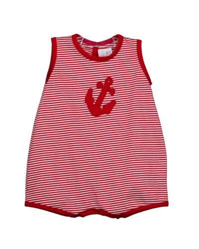 Rapife Red Stripe Romper 4912S20