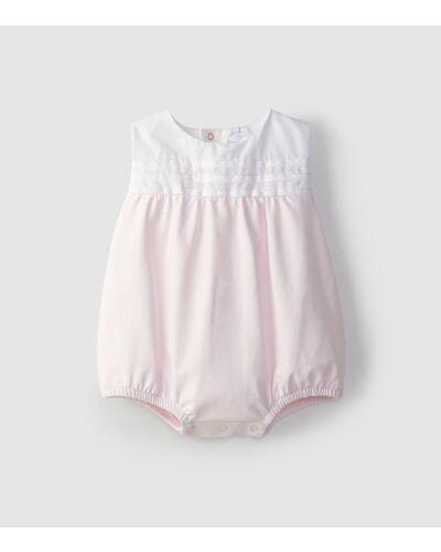 Laranjinha Pink Romper V1010