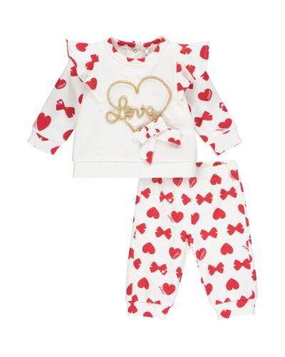 Little A White Bailey Tracksuit LW21513