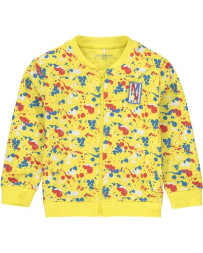 Mitch & Son Yellow Couper Sweat Jacket MS21216