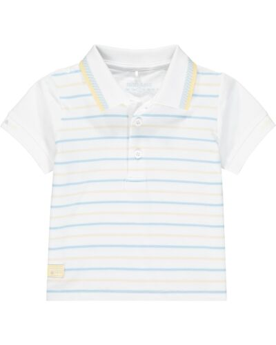 Mitch & Son White Blythswood Polo Shirt MS21108