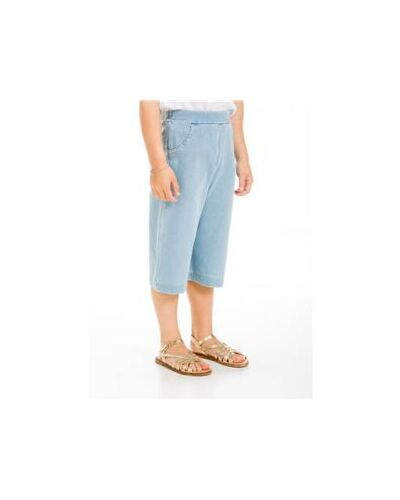 UBS2 Blue Cotton Trousers