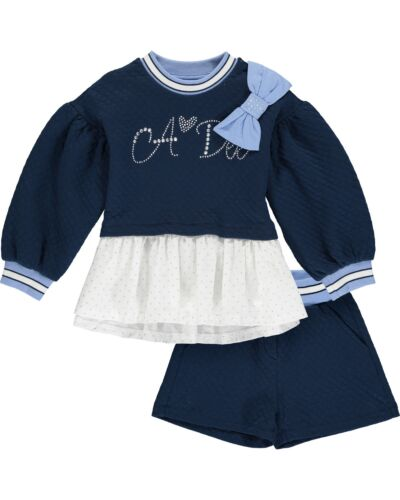 A'Dee Navy Harriet 2pc Set W204519