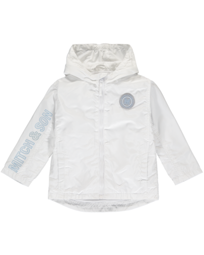 Mitch & Son White Noah Jacket MS1301