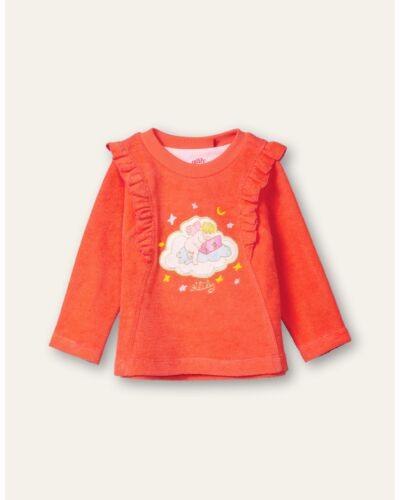 Oilily Orange Humpty Sweater YS21GHJ001