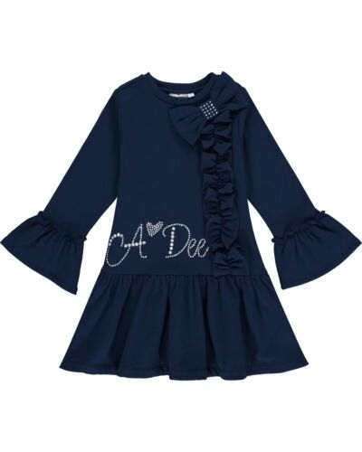 A'Dee Navy Huda Dress W204716